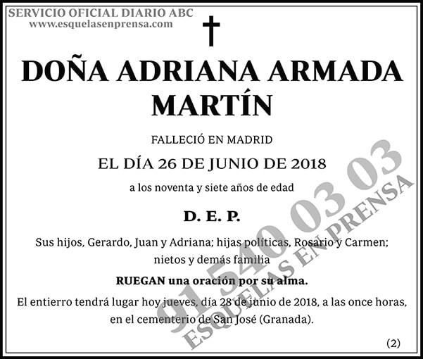 Adriana Armada Martín